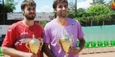 Jordi Samper and Gerard Granollers finalists at the ITF Rumania