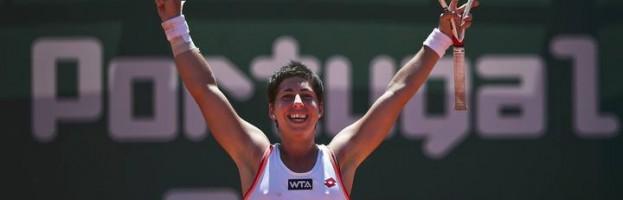 CARLA SUAREZ CAMPIONA TORNEIG WTA OEIRAS (PORTUGAL)