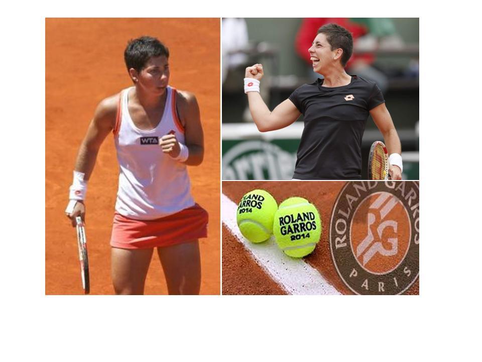 Carla Suarez, Roland Garros 2014