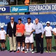 """Oriol Roca wins the ITF Futures """"Villa de Madrid"""" Trophy"""